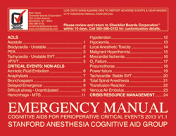 Safety Products Stanford Emergency Manual